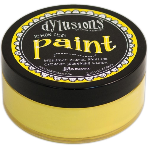 Ranger Dylusions Paint LEMON ZEST DYP45991 Preview Image