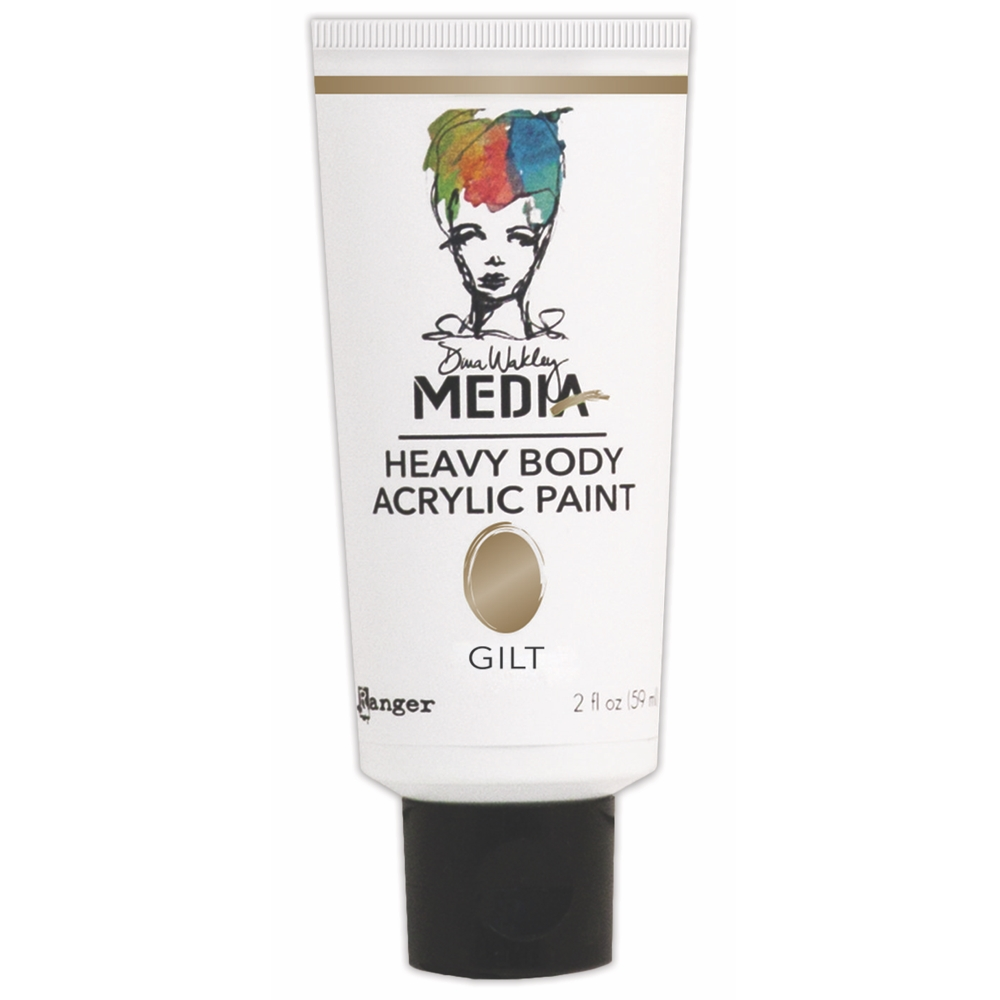 Dina Wakley Ranger GILT Media Heavy Body Acrylic Paints MDP46387 zoom image