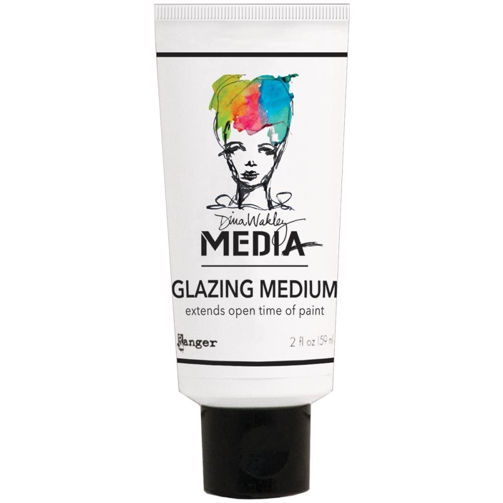 Dina Wakley Ranger GLAZING MEDIUM 2 OZ Media MDM46431 zoom image