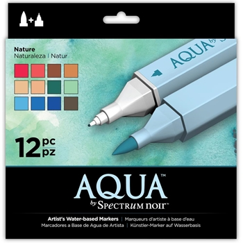 Crafter's Companion NATURE Spectrum Aqua Markers S-AQUA-NAT