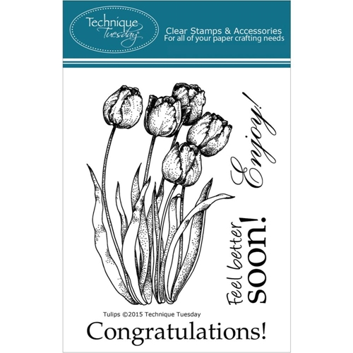 Technique Tuesday TULIPS Clear Stamps 00932 Preview Image