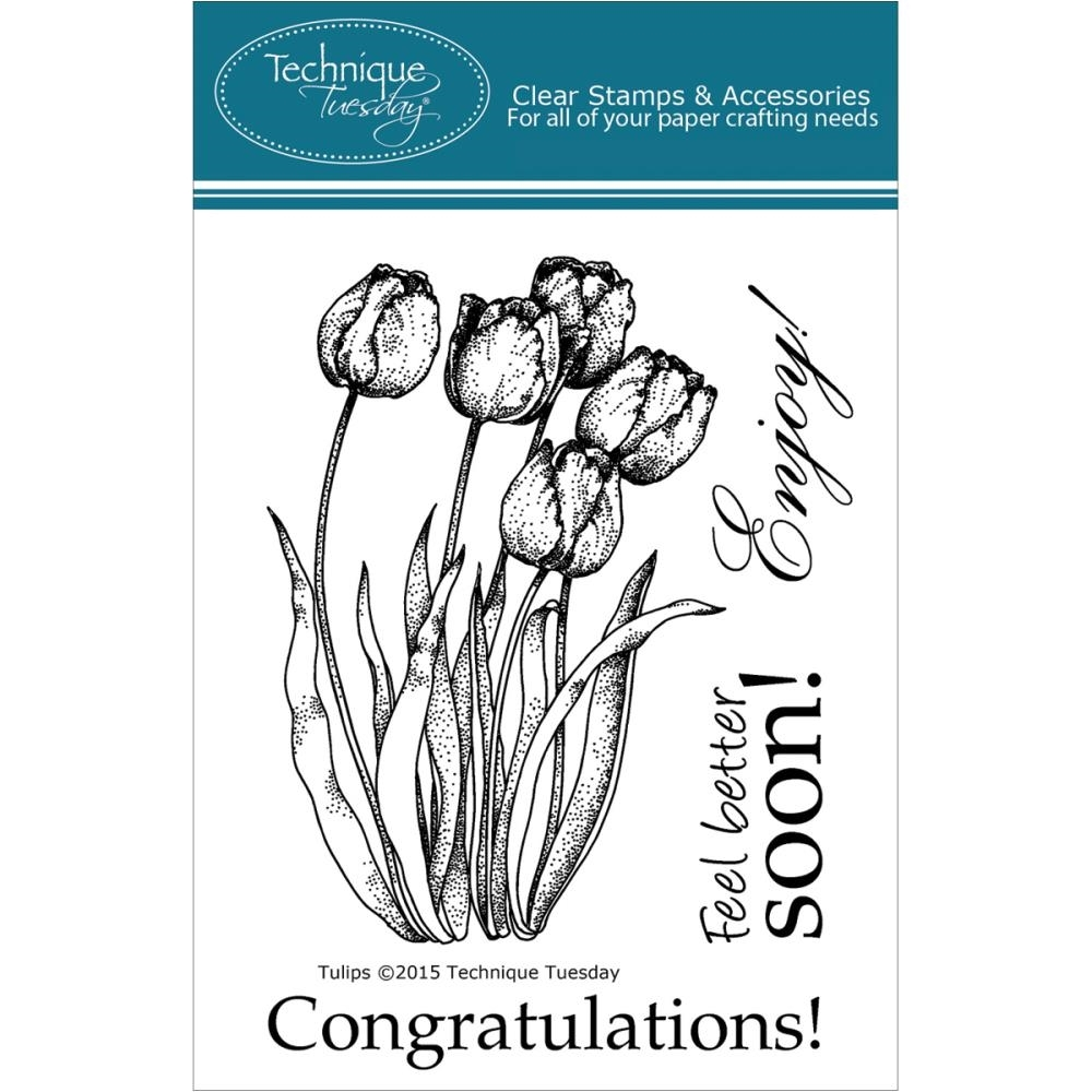 Technique Tuesday TULIPS Clear Stamps 00932 zoom image