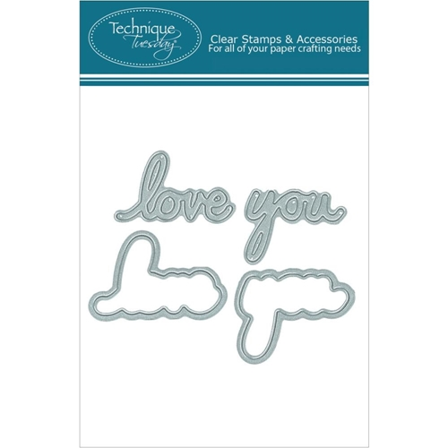 Technique Tuesday DIY Dies SAY IT 2 I LOVE YOU 02116 Preview Image