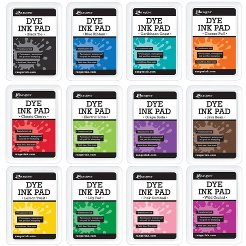 Ranger Dye Ink Pad SET OF 12 RDP12PADSET Preview Image
