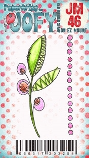 Paper Artsy JOFY MINI 46 Rubber Cling Stamp JM46 Preview Image