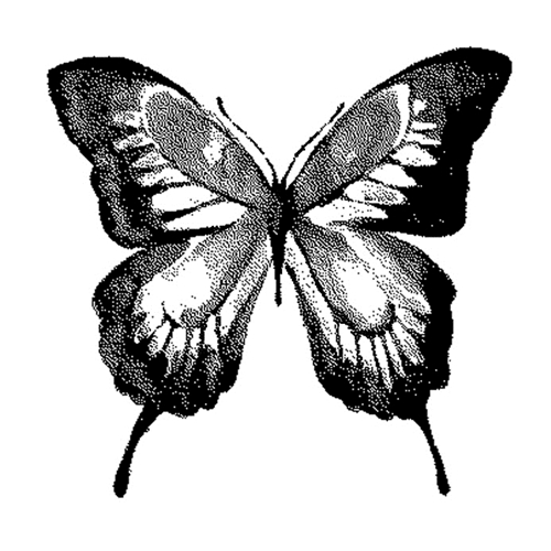 Tim Holtz Rubber Stamp  WATERCOLOR BUTTERFLY 1 Stampers Anonymous J1-2571 Preview Image
