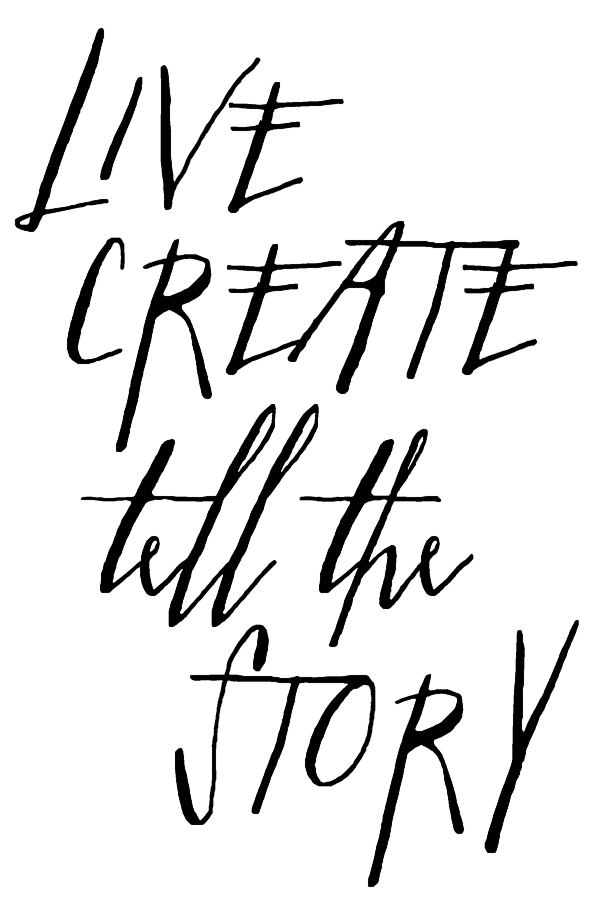 Tim Holtz Rubber Stamp WRITTEN LIVE CREATE Stampers Anonymous K1-2575 zoom image