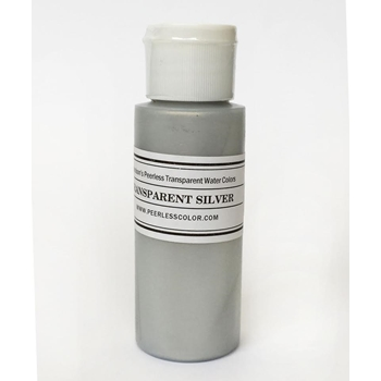 Peerless Transparent SILVER Metallic Wash PTMSILVER
