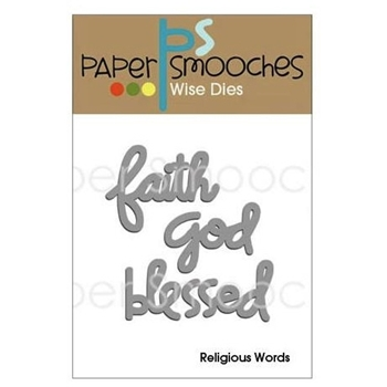 Paper Smooches RELIGIOUS WORDS Wise Dies FBD198