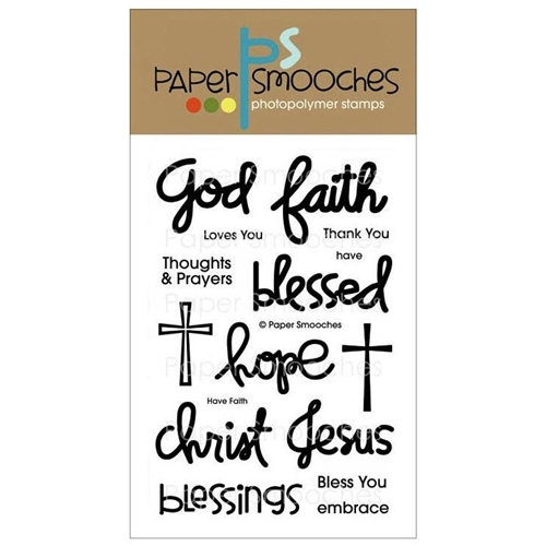 Paper Smooches HAVE FAITH Clear Stamps FBS238 Preview Image