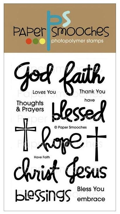 Paper Smooches HAVE FAITH Clear Stamps FBS238 zoom image