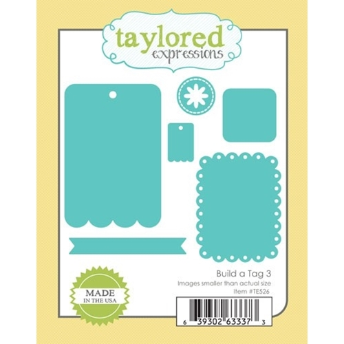 Taylored Expressions BUILD A TAG 3 Die Set TE526 Preview Image