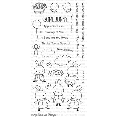My Favorite Things SOMEBUNNY Clear Stamps MFT BB12 Preview Image