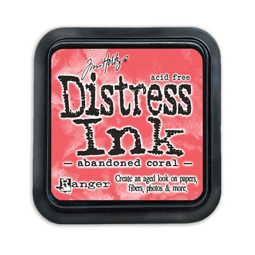 Tim Holtz Distress Ink Pad ABANDONED CORAL TIM43188 Preview Image
