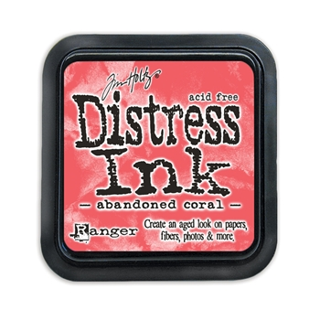 Tim Holtz Distress Ink Pad ABANDONED CORAL TIM43188