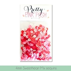 Pretty Pink Posh 4MM SWEETHEART MIX Cupped Sequins* Preview Image