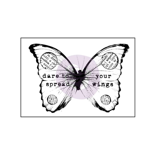 Prima Marketing BUTTERFLY 2 Finnabair Wood Mounted Stamp 962098* Preview Image
