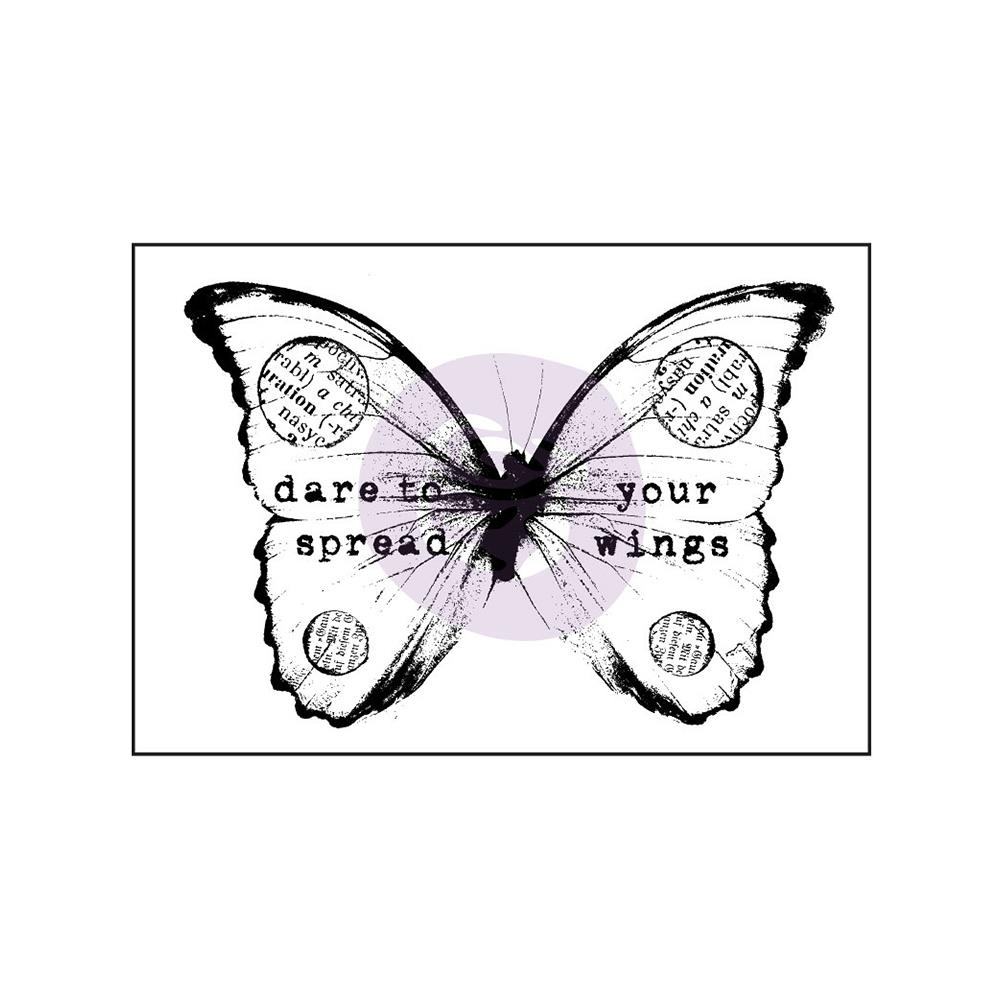 Prima Marketing BUTTERFLY 2 Finnabair Wood Mounted Stamp 962098* zoom image