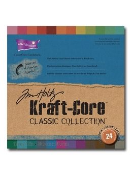Tim Holtz Core'dinations KRAFT CORE CLASSIC 12 x 12 Paper Stack GX195001