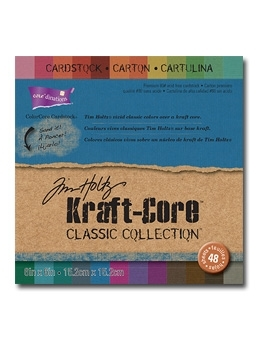 Tim Holtz Core'dinations KRAFT CORE CLASSIC 6 x 6 Paper Stack GX195002 *