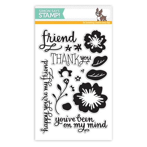 SImon Says Clear Stamps FLOWERS ON MY MIND sss101501 * Preview Image