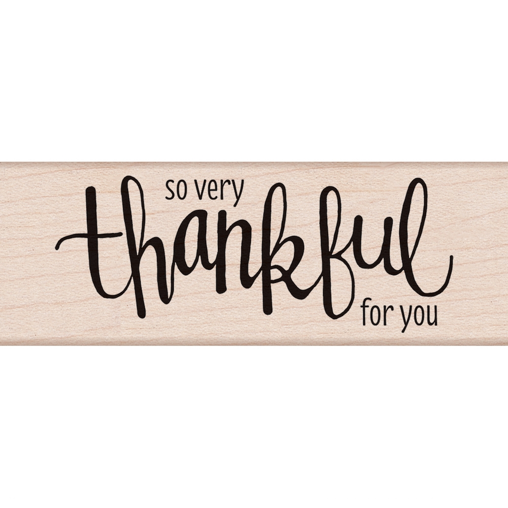 Hero Arts Rubber Stamp THANKFUL G6070 zoom image