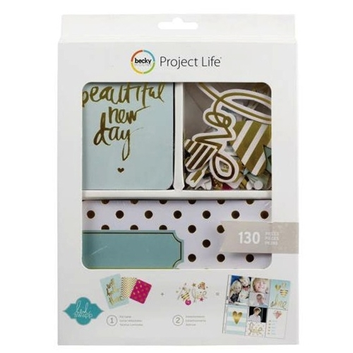 Becky Higgins American Crafts Project Life HEIDI SWAPP GOLD FOIL Kit 98177 Preview Image