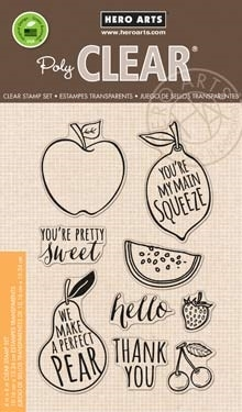 Hero Arts Clear Stamps STAMP YOUR OWN FRUIT CL835 zoom image