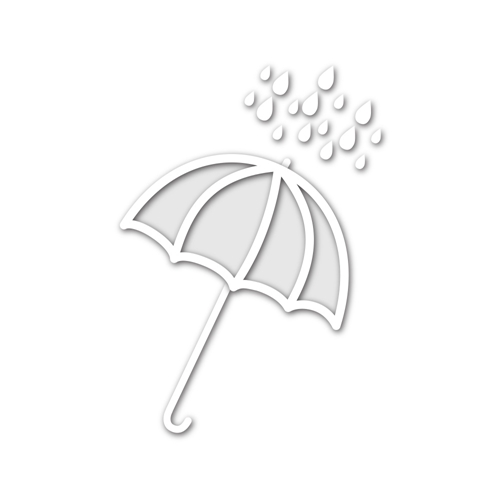 Simon Says Stamp UMBRELLA SHAKER Wafer Thin Die sssd111443 Hop To It Preview Image