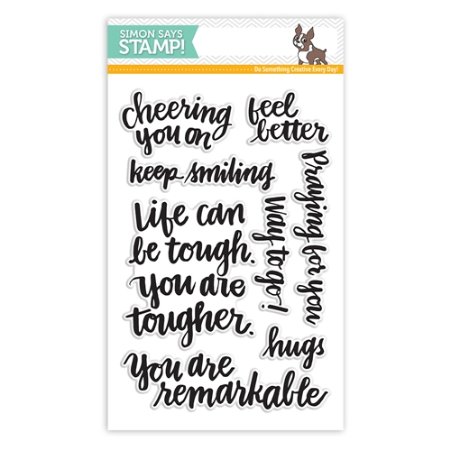 Simon Says Clear Stamps HAND LETTERED ENCOURAGEMENT sss101492 Preview Image