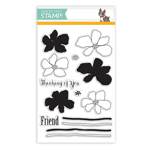 Simon Says Clear Stamps ARTFUL FLOWERS sss101488 Hop To It Preview Image