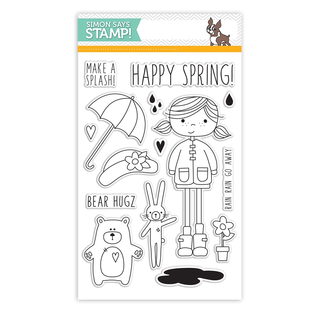 Simon Says Clear Stamps ABBY'S SPRING SHOWERS sss101489 Hop To It zoom image