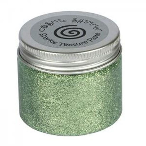 Cosmic Shimmer SEA GREEN Sparkle Texture Paste 907458 zoom image