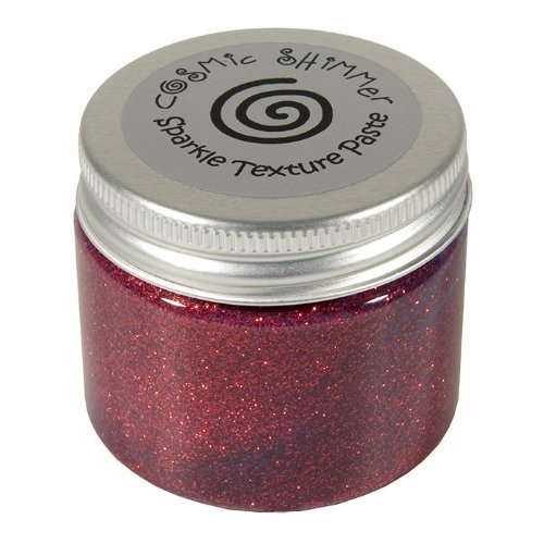 Cosmic Shimmer APPLE RED Sparkle Texture Paste 906529 Preview Image
