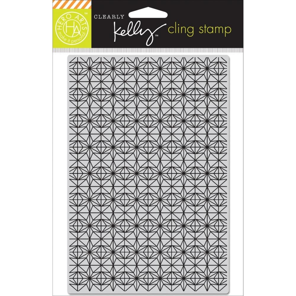Hero Arts Cling Stamp KELLY'S BACKGROUND STARS Clearly Kelly CG655 zoom image
