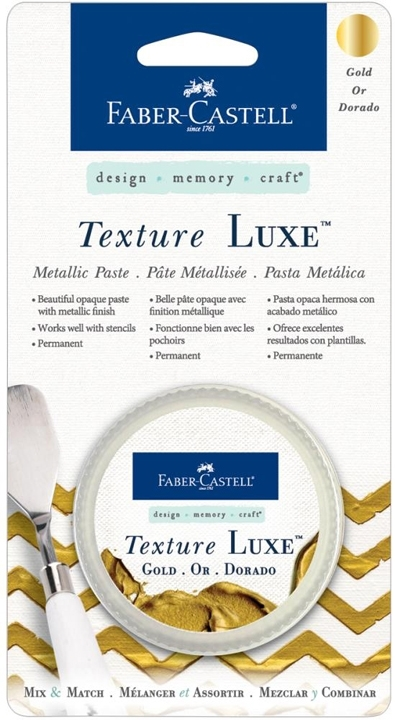 Faber-Castell GOLD TEXTURE LUXE Metallic Paste 770322 zoom image