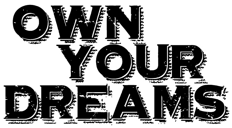 Tim Holtz Rubber Stamp OWN YOUR DREAMS Stampers Anonymous J2-2612 zoom image
