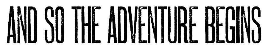 Tim Holtz Rubber Stamp ADVENTURE BEGINS Stampers Anonymous E4-2609 zoom image