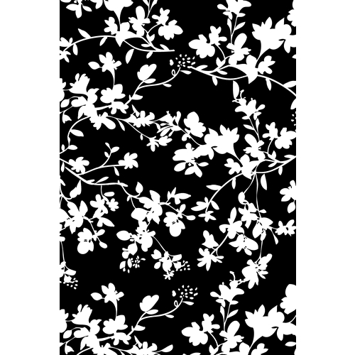 Tim Holtz Rubber Stamp FLORAL Stampers Anonymous X1-2592 Preview Image