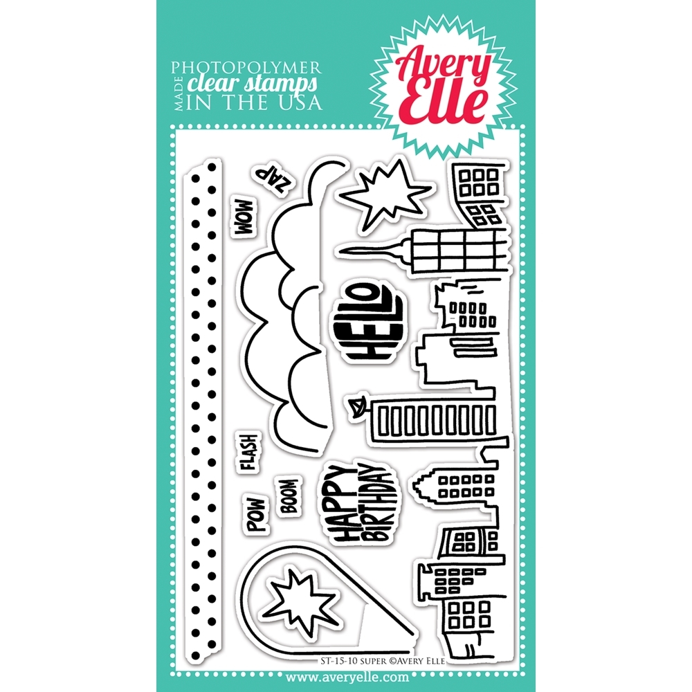 Avery Elle Clear Stamp SUPER Set 022409 zoom image