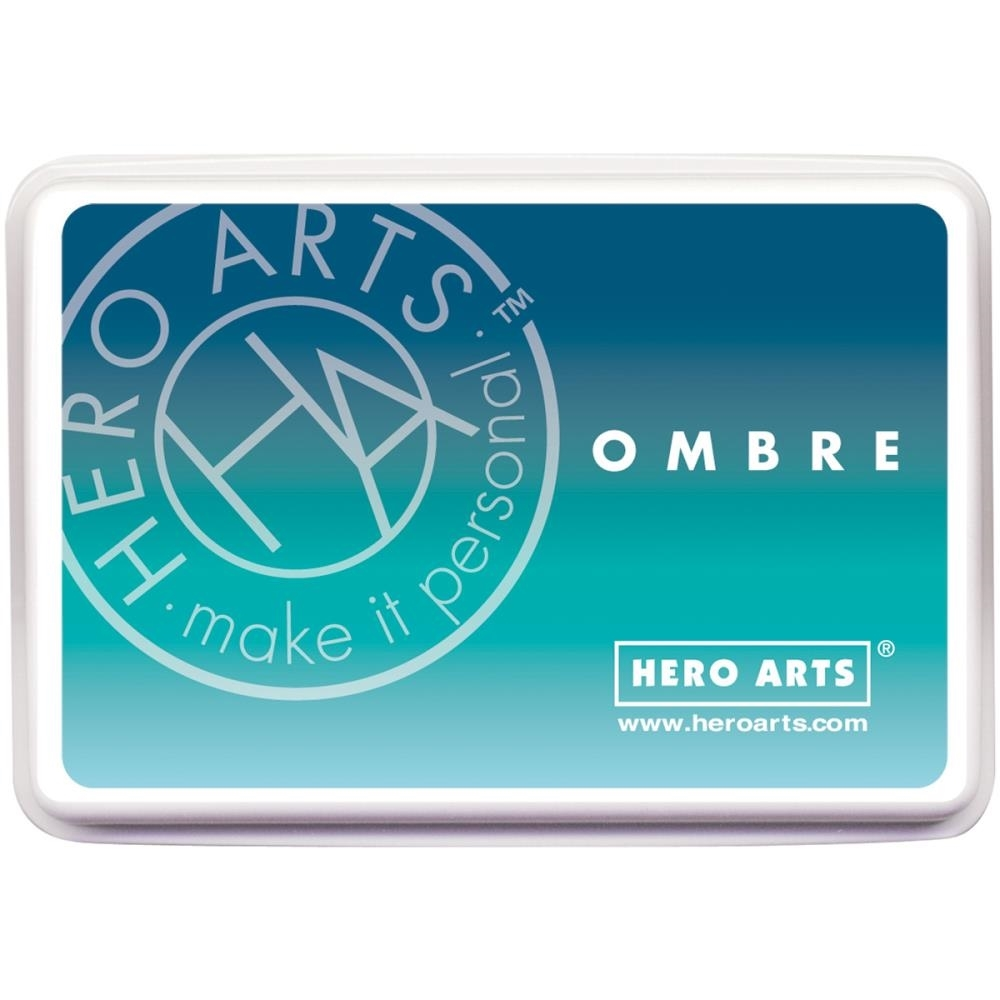Hero Arts Ombre POOL TO NAVY Ink Pad AF308 zoom image