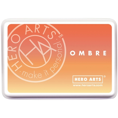 Hero Arts Ombre BUTTER TO ORANGE Ink Pad AF309 Preview Image