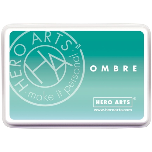 Hero Arts Ombre MINT TO GREEN Ink Pad AF310 Preview Image