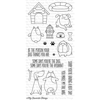 My Favorite Things YOU MAKE MY TAIL WAG Clear Stamps BB13