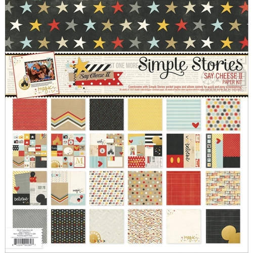 Simple Stories SAY CHEESE II 12 x 12 Collection Kit 4300 Preview Image