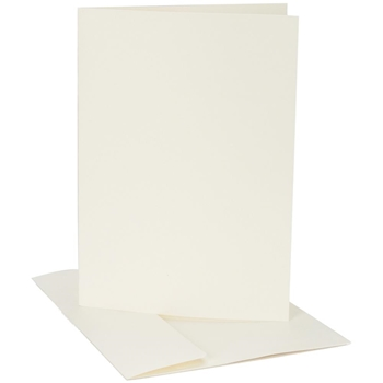 Core'dinations IVORY Smooth A2 Cards & Envelopes GX800080