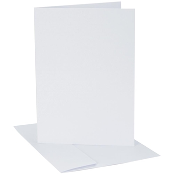 Core'dination WHITE Smooth A2 Cards And Envelopes GX800079