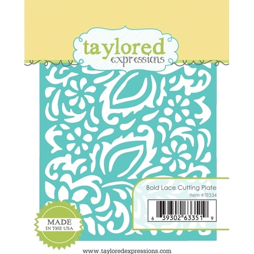 Taylored Expressions BOLD LACE Cutting Plate Die Set TE534 Preview Image