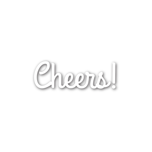 Simon Says Stamp Cheers Craft Die