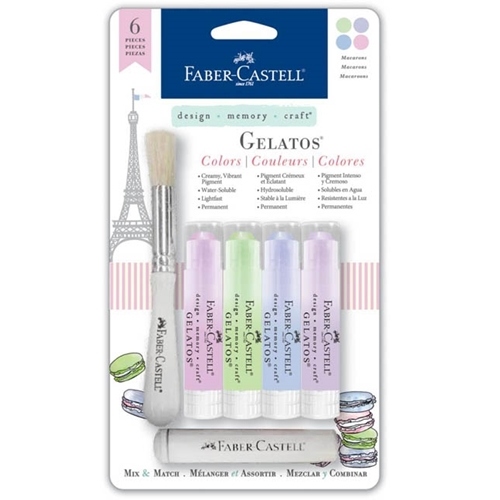 Faber-Castell MACAROONS Gelatos Designer Colors 770166 Preview Image